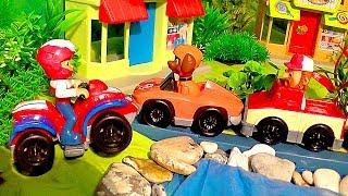 Щенячий Патруль - L.O.L Сюрприз и Гонки в Бухте Барахте. Все серии. Paw Patrol Rescue Set