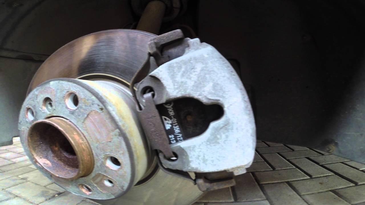 Проблема с тормозными дисками на БМВ Е39. День первый.