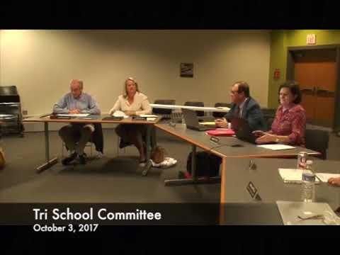 Tri School Committee 10.03.17