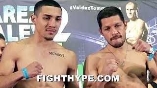 TEOFIMO LOPEZ VS. DIEGO MAGDALENO WEIGH-IN AND DANCING FACE OFF