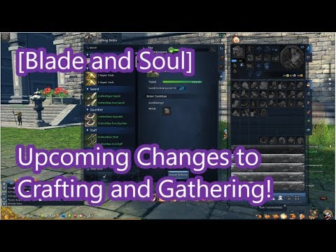 blade and soul crafting blade and soul new crafting changes coming september 3460