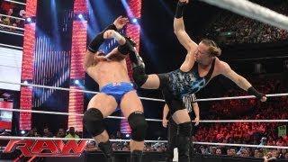 Rob Van Dam vs. Wade Barrett: Raw, July 22, 2013