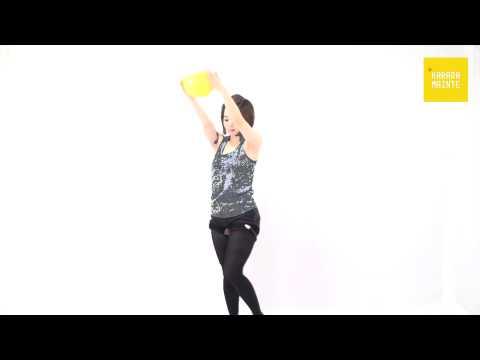 19腹筋群の加圧トレーニング(ダイアゴナル・ツイスト)