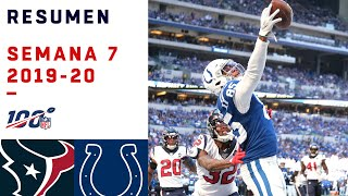 Colts se adueñan de su división a costa de los Texans | Highlights Texans vs Colts