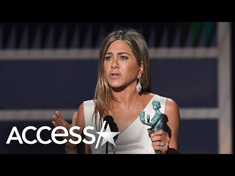 Jennifer Aniston Tears Up Winning SAG Award For 'The Morning Show': 'This Is So Unbelievable!'
