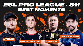 CS:GO Best Moments | ESL Pro League Season 11 | ВУЛКАН КИБЕРСПОРТ
