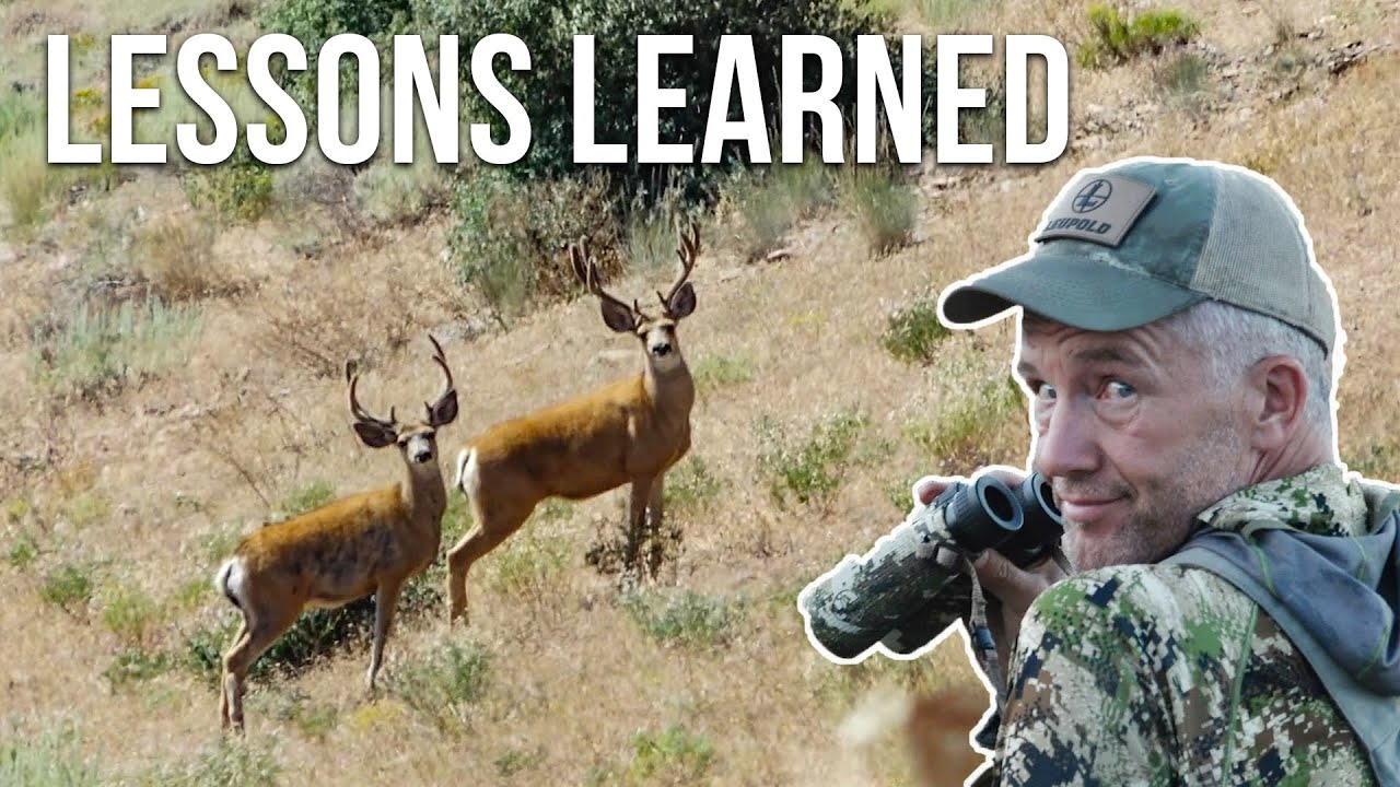 LESSONS LEARNED: Nevada Archery Mule Deer (What I Did Wrong)