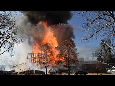 Fire destroys apartment building under construction in uptown Denver