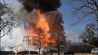Denver fire destroys apartment building under construction in uptown
