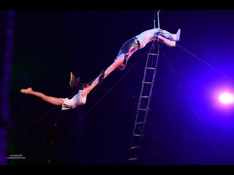 Aerial Cradle Duo Acrobatics Circus Act Variety Show Entertainment performance Part Event