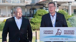 Ontario joins Saskatchewan in carbon tax fight