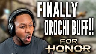 For Honor Orochi ∙ Finally A Buff For Orochi!! But......