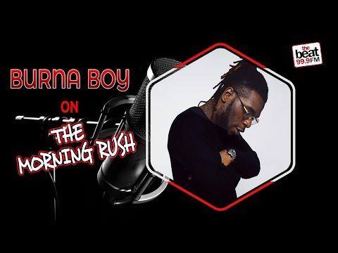 burna boy full beat fm interview