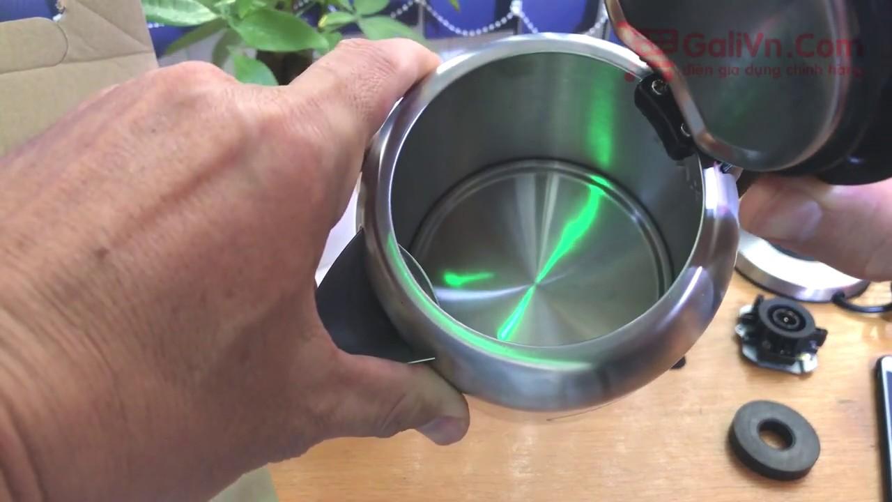 Ấm đun siêu tốc GL-0010A hàng chất không cháy nổ – GaliVn.Com