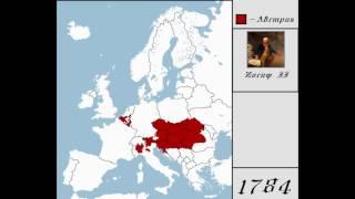 История Австрии (1454 - 2016) [ Каждые 10 лет ]