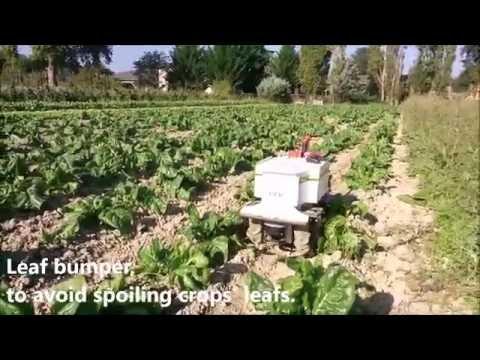 Oz autonomous weeding robot, by Naïo Technologies