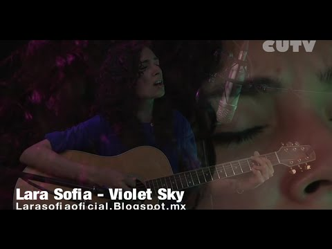 CUTV STUDIO SESSIONS Lara Sofia - Violet Sky