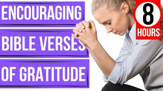 Encouraging Bible verses for sleep (Gratitude scriptures)(To God be the glory)