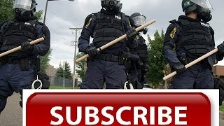 police brutality Lithuania Vilnius bikers show