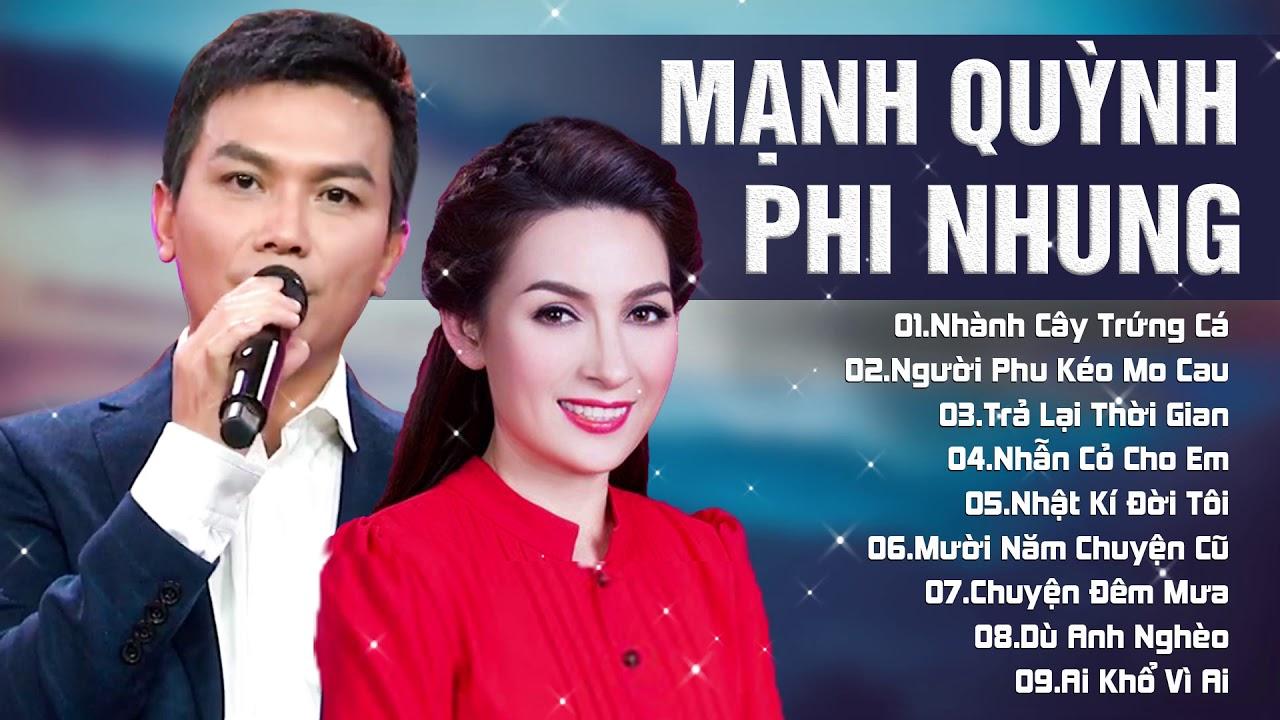 Mạnh Quỳnh & Phi Nhung – Nhành Cây Trứng Cá | Lk Song Ca Nhạc Vàng Đặc Sắc 2019