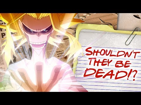 How Powerful Is All Might's United States of Smash? My Hero Academia Conspiracy   Channel Frederator