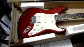 Uusi (käytetty) kitara tuli postissa