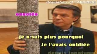 ADAMO   UNE MECHE DE CHEVEUX I G KARAOKE Karaoké