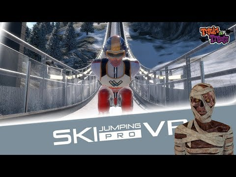 Fly Like Eddie The Eagle | SKI Jumping PRO VR - HTC Vive