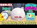 CLAIMING *ALL PRIZES* AND POPPING A HUGE BUBBLE IN BUBBLEGUM SIMULATOR (Roblox)