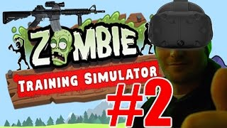 zombie training simulator gameplay 2 m4 carbine challenge vr pc