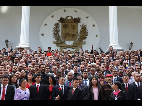 Instalación de la Asamblea Nacional Constituyente, sesión completa