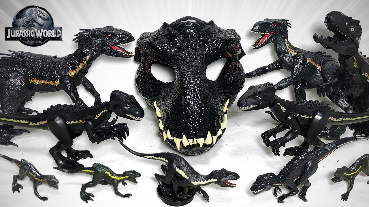 Jurassic World indoraptor Masque