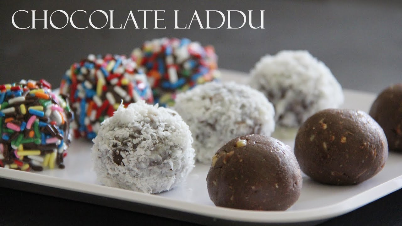 Chocolate Laddu Recipe | Indian Sweets and Dessert Recipes ...