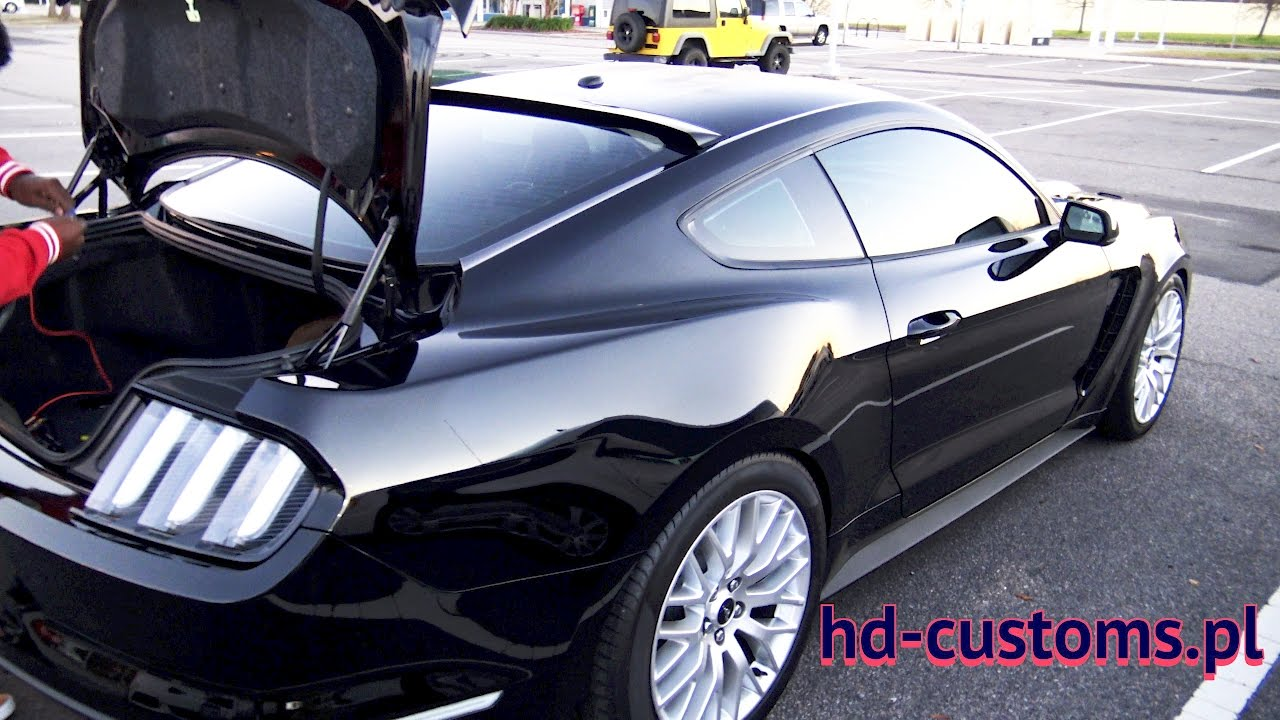 2016 Mustang Gt Modified Euro Tail Lights Youtube