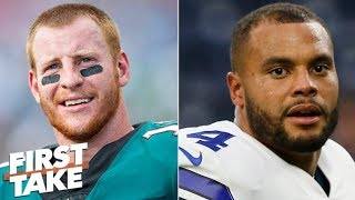 Battle for NFC East title: Do Eagles, Redskins or Cowboys have best chance? | First Take
