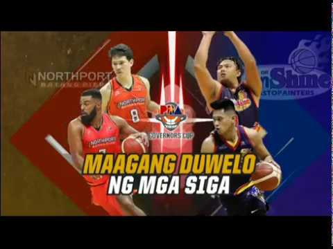 PBA Governors' Cup 2019 Highlights: Northport vs Rain or Shine September 20, 2019