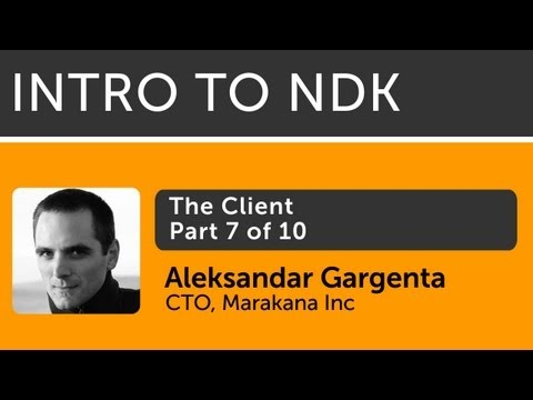 Intro To Android NDK - 07 - The Client