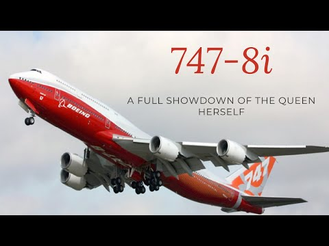 Boeing 747-8i full review showdown | part 2| In Tamil