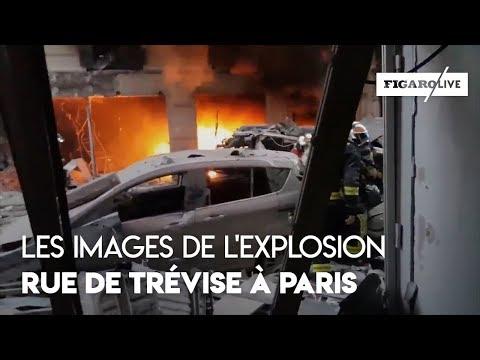 Les images de l'explosion rue de Trévise à Paris