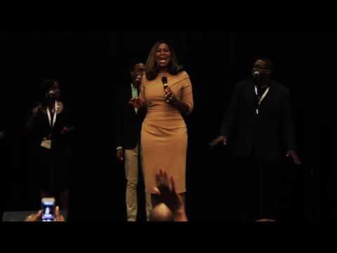 Yolanda Adams performing at Prophecology 2016