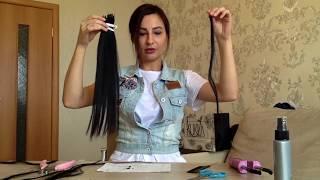 Обучение Наращивание волос! Капсуляция! Как выбрать качественный кератин!