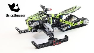 Lego Technic 42021 Snowmobile - Lego Speed build