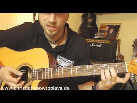 ≈ Speedtutorial 90 Sek. Lesson ≈ Silbermond Das Beste Chorus | Deutsch Gitarre Lernen