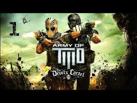 Прохождение Army of Two: The Devils Cartel (XBOX360) — Тренировка, боевое крещение #1