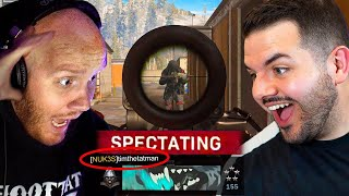 I SPECTATED TIMTHETATMAN IN WARZONE SOLOS!