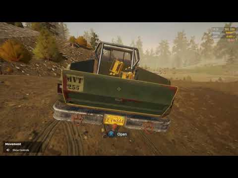 gold rush the game- hooking up the lights for big light project on nighthawk valley part 4