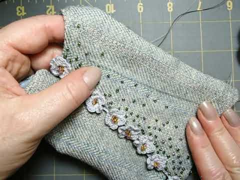 Sewing Doll Clothes: Adding Beadwork