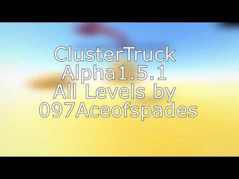 ClusterTruck Alpha 0.1.5.1 All Levels Speedrun (3:08.63) [WR]