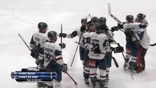 Ice Dogs v Bears  - Game of the Week Highlights 26 May 2018