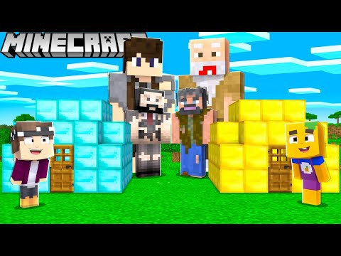 OBDACHLOSE vs. OP BASE in Minecraft!